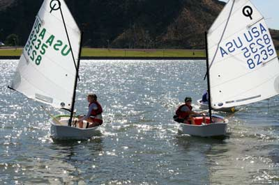 Juniors Sail on Tempe Town Lake