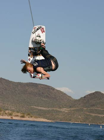 Wakeboarding Outlaw Larry Taylor