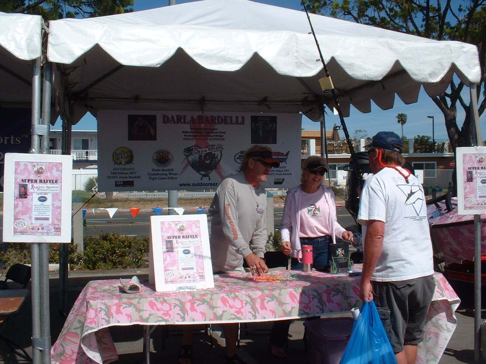 Anglers Against Breast Cancer In San Diego