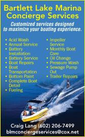 Bartlett Lake Marina Concierge Services: Click Here