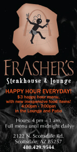 Frasher's Steakhouse, Scottsdale, AZ: Click Here
