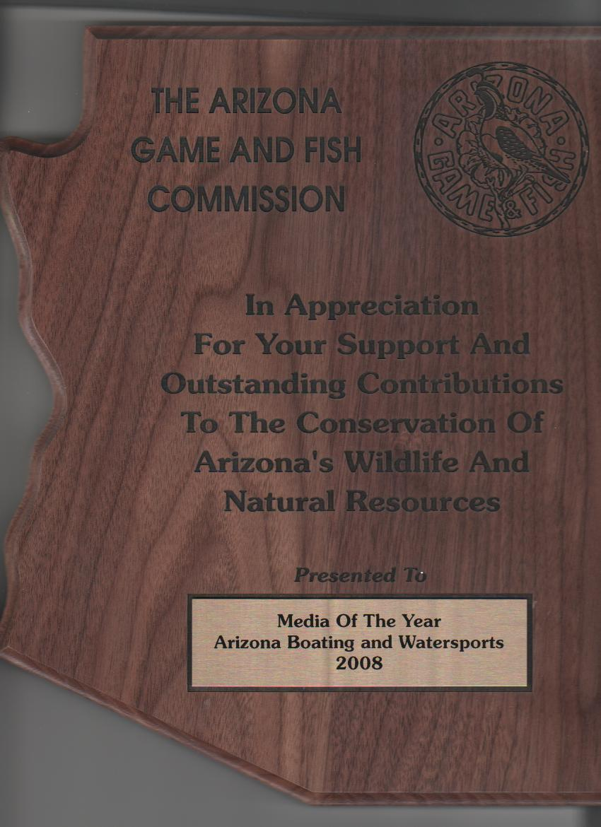 Arizona Game & Fish Media Award