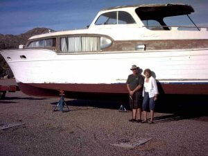 1954 Chris-Craft At Bartlett Lake With Carol Allen And Eric Church Photo Courtesy Of Jim Kelly