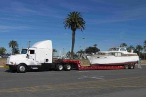 1954 Chris-Craft Leaving San Diego Via Hale's Marine Service Photo Courtesy Of Jim Kelly