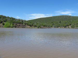 Arizona Lakes Ash Fork Stone Dam Margie Anderson