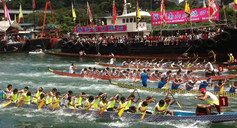 Dragon Boat Racing In Hong Kong By Atmhk