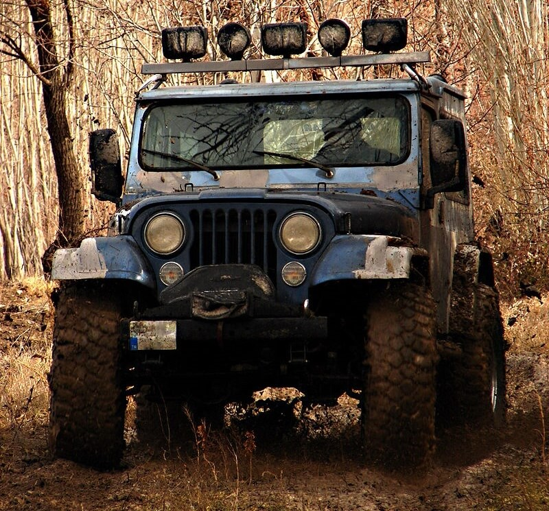 The Perfect Storm over Off Roading
