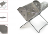 The Flatpack portable grill is ideal for both camping and the back yard or terrace.