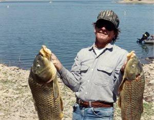 Carp at Roosevelt Lake