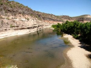 Burro Creek - Photo Courtesy Of Margie Anderson