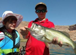 Fishing Lake Powell
