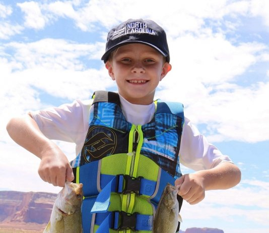 Lake Powell Fishing Report Gustaveson