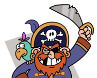 Pirate_Press_Mascot