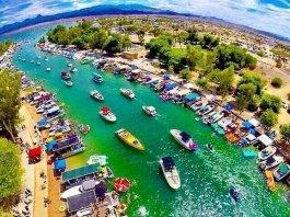 'Monster Storm' In Lake Havasu