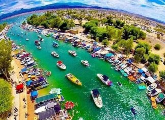 'Monster Storm' In Lake Havasu
