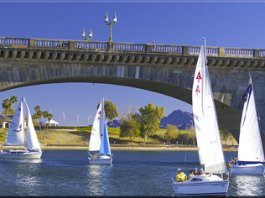 Boats near Lake Havasu City