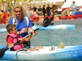 Kayaking Pond