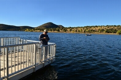 Arizona 39 s top five winter fishing holes azbw for Canyon lake fishing spots