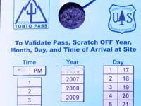 Tonto pass