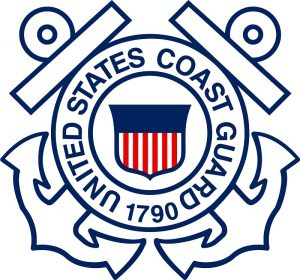 Boating Safety Coast Guard Emblem