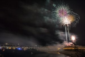 Lake Pleasant Fireworks