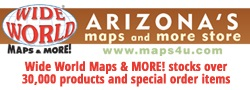 Arizona Business Locations Wide World Maps