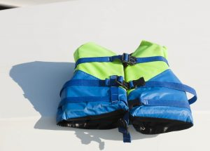 Stand Up Paddle Boarding Strap On A Life Jacket