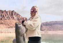 Lake Powell Big Fish