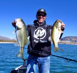 AZ Lakes, AZ Pros  - Kevin Finley At Lake Pleasant