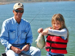 AZ Lakes, AZ Pros: Curt Rambo Knows Crappie Fishing Roosevelt