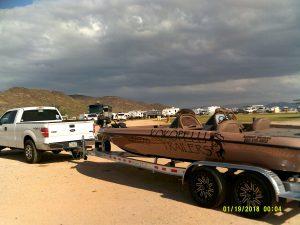 Kokopelli Trailers And Don Ashford's New Boat Trailer
