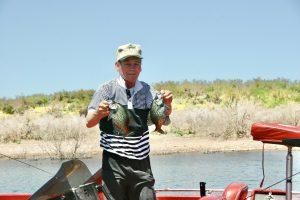 AZ Lakes, AZ Pros: Garry Garland At Roosevelt Lake